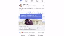 Making Sense of Political Ads on Facebook