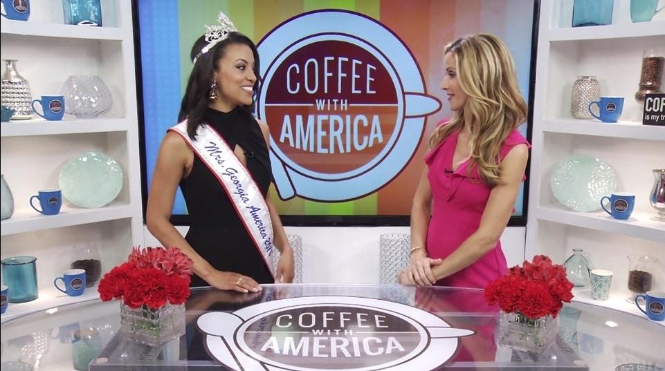 Coffee With America Mrs  Georgia America Liana Brackett