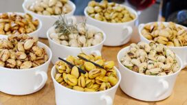 Football Tailgating and Pistachios