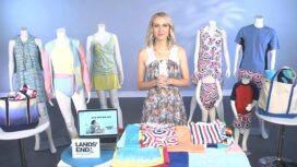 Lands' End Swimsuit Fashions with Emily Foley