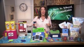 JUSTINE SANTANIELLO SHARES HER BACK-TO-SCHOOL ESSENTIALS!