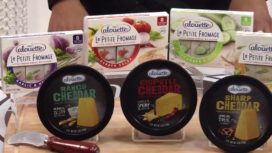 SNACK BETTER & SMARTER WITH ALOUETTE CHEESE!