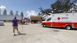 SUPPORT THE RED CROSS IN HELPING LOUISIANA FLOOD VICTIMS